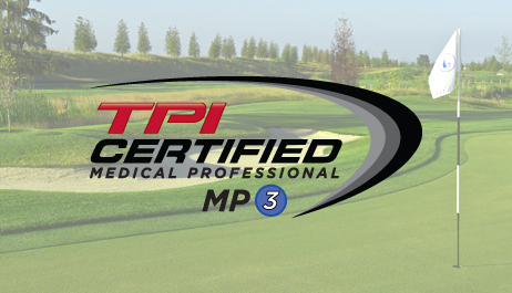 TPI GOLF MEDICAL ASSESSMENT