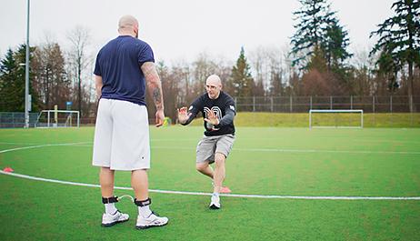 Sports Rehab + On-Field Physio